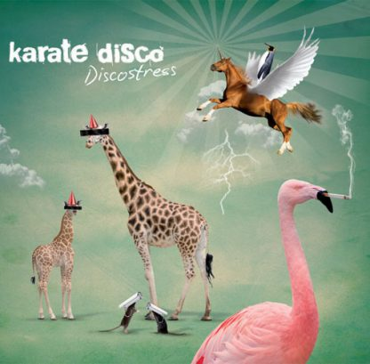 Cover: karate disco - discostress
