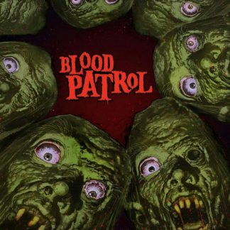 Cover: Blood Patrol - From Beyond an below LP