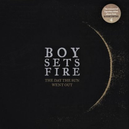 Cover: Boy sets Fire - The Day the sun went out LP