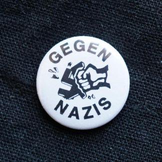 Button: Gegen Nazis