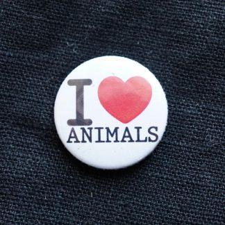 Button – I love animals