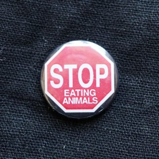 Button – Stop eating animals