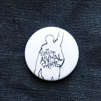 Button – Fight for animal rights