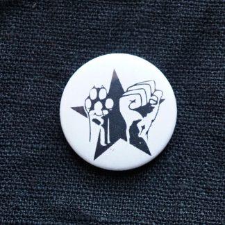 Button – Faust Pfote Stern