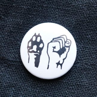 Button: Pfote Faust
