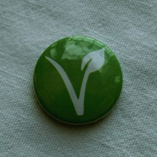 Button – Vegan V