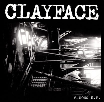 Cover: Clayface - 8 Song EP LP