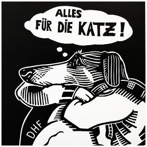 Cover: Die Hektischen Flecken - Alles für die Katz Tape