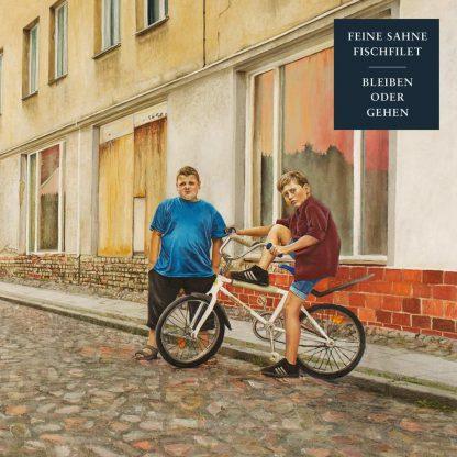 Cover: Feine Sahne Fischfilet - Bleiben oder gehen LP