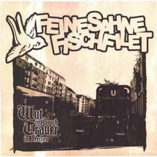Cover: Feine Sahne Fischfilet - Wut im Bauch Trauer im Herzen LP