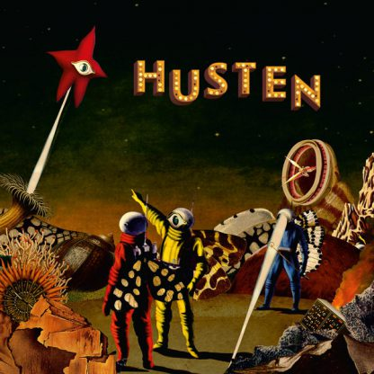 Cover: Husten - s.t. LP