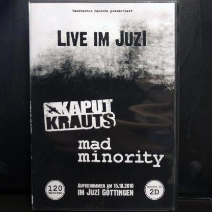 Cover: Kaput Krauts / Mad Minority - Live im Juzi DVD