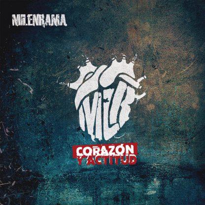 Cover: Milenrama - Corazon y actitud LP