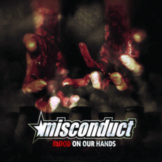 Cover: Misconduct - Blood on our hands LP