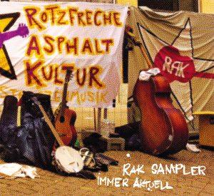 Cover: RAK - Immer aktuell Sampler CD