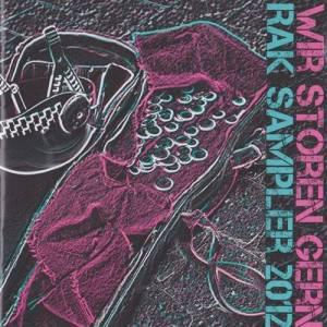 Cover: RAK - Wir stören gern Sampler 2012 CD