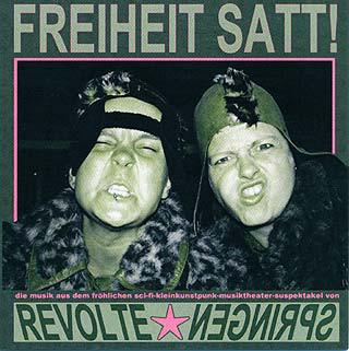 Cover: Revolte Springen - Freiheit satt CD