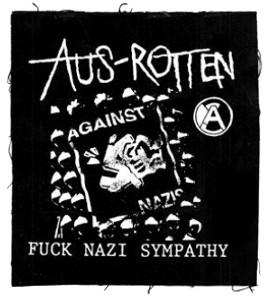 Tanz auf Ruinen Records - Aufnäher - Fuck Nazi Sympathy