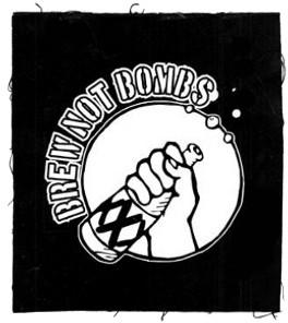 Tanz auf Ruinen Records - Aufnäher - Brew not Bombs