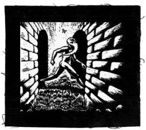 Tanz auf Ruinen Records - Aufnäher - Butterfly