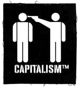 Tanz auf Ruinen Records - Aufnäher - Capitalism TM
