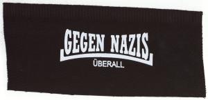 Tanz-auf-Ruinen-Records-Aufnäher-Gegen-Nazis-Überall