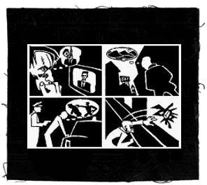 Tanz auf Ruinen Records - Aufnäher - Gegen TV