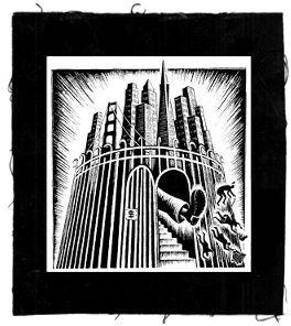 Tanz auf Ruinen Records - Aufnäher - Golden City