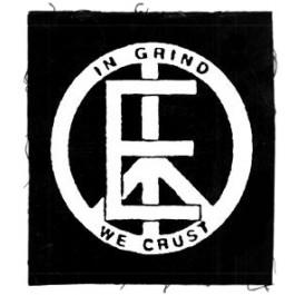 Tanz auf Ruinen Records - Aufnäher - In Grind we crust