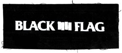 Tanz auf Ruinen Records - Aufnäher - blackflag