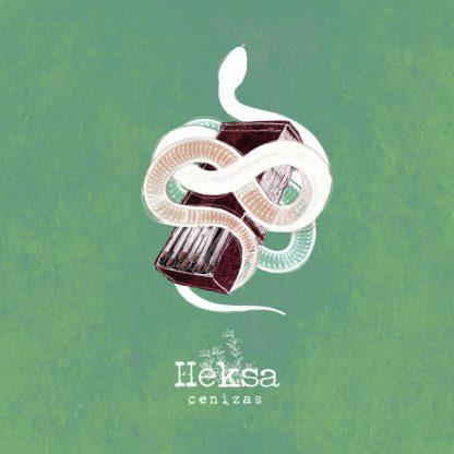 Cover: Heksa - Cenizas LP