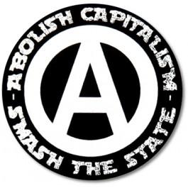 Tanz auf Ruinen Records - Sticker - Smash the state