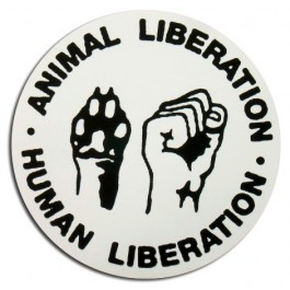 Tanz auf Ruinen Records - Sticker - Human Animal Liberation