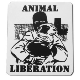 Tanz auf Ruinen Records - Sticker - Animal Liberation