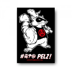 Tanz auf Ruinen Records - Sticker - Fck Pelz