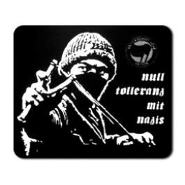 Tanz auf Ruinen Records - Sticker - Null Toleranz mit Nazis