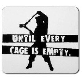 Tanz auf Ruinen Records - Sticker - Until every cage is empty