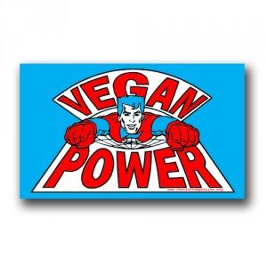 Tanz auf Ruinen Records - Sticker - Vegan Power