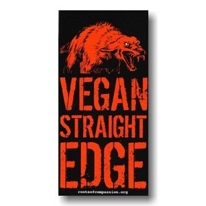 Tanz auf Ruinen Records - Sticker - Vegan Straight edge