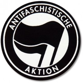 Tanz auf Ruinen Records - Sticker - Antifa