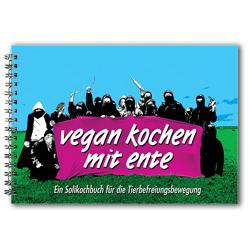 Cover: Vegan kochen mit Ente