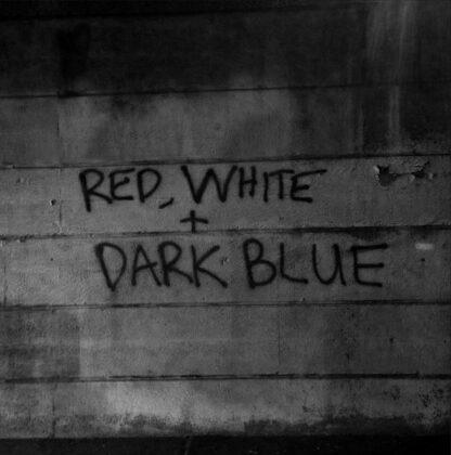 Cover: Dark Blue - Red, white + dark blue LP