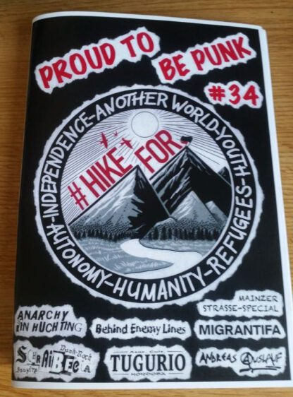 Cover: Proud-to-be-Punk Nummer 34 Fanzine
